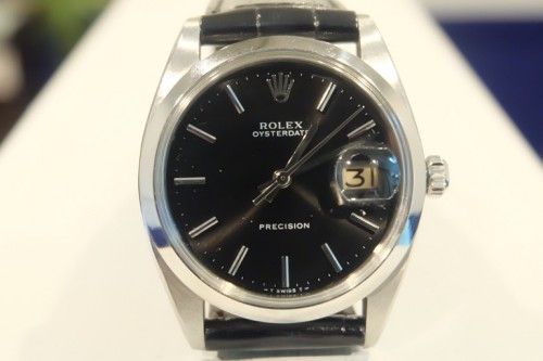 ROLEX OYSTERDATE PRECISION Ref.6694 BLACKDIAL 手巻きのオイスターはいかがでしょうか。