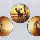 美術品の骨董品・美術品 オールドノリタケ モールド皿