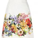 ドルチェ&ガッバーナのアパレル ドルチェ&ガッバーナ 花柄スカート