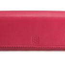 ロエベの財布、ケース ロエベ ナッパ長財布 ピンク