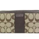 コーチの財布、ケース パーカー シグネチャー アコーディオン F49159
