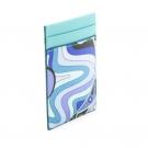エミリオプッチの財布、ケース エミリオプッチ カードケースブルー系