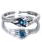 アレキサンドライトの宝石 アレキサンドライト  ダイヤモンドリング
