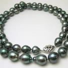 パール(真珠)の宝石 タヒチ黒蝶真珠  ロングネックレス