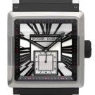 ロジェ・デュブイの時計 ロジェ・デュブイ キングスクエア シルバー×ブラック