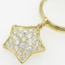 ギメルのブランドジュエリー ギメル 星 ダイヤモンド リング