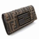 フェンディの財布、ケース フェンディ ZUCCA (ズッカ) 長財布