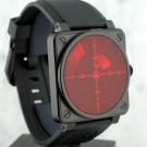 ベル&ロスの時計 ベル&ロス BR01-92 Red Radar Limited Edition