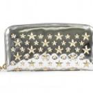 ジミーチュウの財布、ケース ジミーチュウ ラウンドファスナー 長財布
