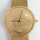 コルムの時計 コルム コインウォッチ YG