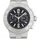 ブルガリの時計 ブルガリ ディアゴノ クロノグラフ 腕時計