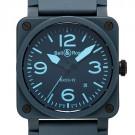 ベル&ロスの時計 ベル&ロス BR03-92 ブルー セラミック