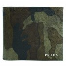 プラダの財布、ケース プラダ サフィアーノ  カモフラージュ 財布
