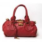 クロエのバッグ クロエ パディントン ハンドバッグ 赤