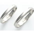 プラチナ製品の貴金属 マリッジリング pt900