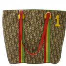 ディオールのバッグ ディオール ラスタライン ハンドバッグ