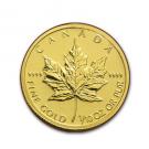 金製品の貴金属 メイプルリーフ金貨 1/10オンス