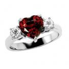 ルビーの宝石 ルビー ダイヤモンド リング