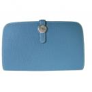 エルメスの財布、ケース エルメス ドゴンGM ブルージーン