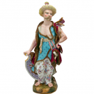 美術品の骨董品・美術品 マイセン アレキサンダー 人形