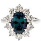 その他 宝石 の宝石 アレキサンドライト ダイヤモンド リング