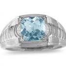 アクアマリンの宝石 アクアマリン ダイヤモンド リング
