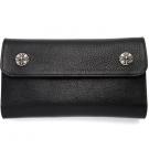 クロムハーツの財布、ケース クロムハーツ レザー ウェーブウォレット