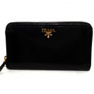 プラダの財布、ケース プラダ サフィアーノ ラウンド長財布