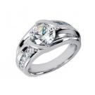 ダイヤモンドの宝石 ダイヤモンド リング プラチナ