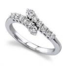 ダイヤモンドの宝石 ダイヤモンド リング 750