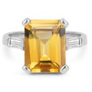 その他 宝石 の宝石 シトリン ダイヤモンド リング