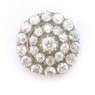 ダイヤモンドの宝石 ダイヤモンド ブローチ ホワイトゴールド