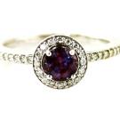 アレキサンドライト ダイヤモンド リング:62,000円
