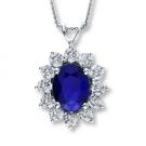 サファイアの宝石 ブルーサファイア ネックレス