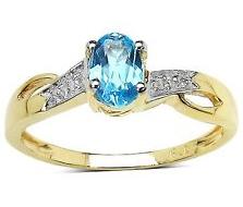 アクアマリン ダイヤモンドリング