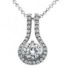 ダイヤモンドの宝石 ダイヤモンド ネックレス 750