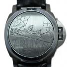 パネライの時計 パネライ ルミノール ブラックシール