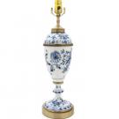 マイセン ブルーオニオン テーブルランプ:20,000円