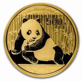 中国 パンダ金貨