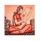 リチャードジノリ 陶板画