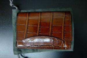 トムフォード クロコダイル カードケース