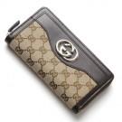 グッチの財布、ケース グッチ    ラウンドファスナー 長財布