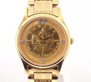 金貨 時計