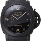 パネライの時計 パネライ ルミノールGMT トゥットネロ