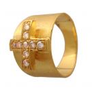 ダイヤモンドの宝石 24K ダイヤモンド リング