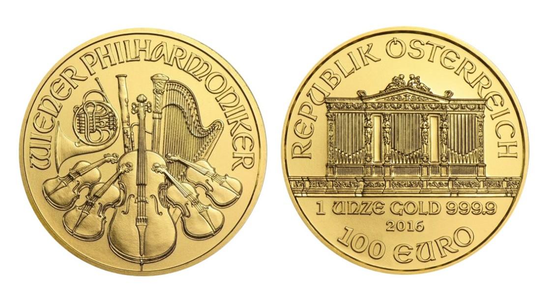 オーストリア ウィーン金貨