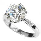ダイヤモンド プラチナ リング :1,100,000円