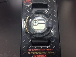 Gショック フロッグマン メン・イン・ブラック DW-8200BM-1T