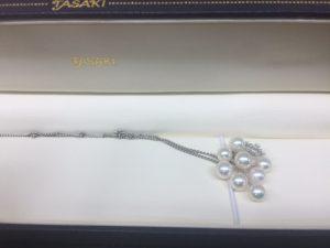 タサキ パールダイヤネックレス