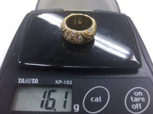 ブルガリ アルベアーレダイヤリング